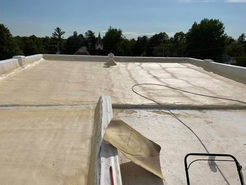 Costs Seamless Foam Roofing East Texas