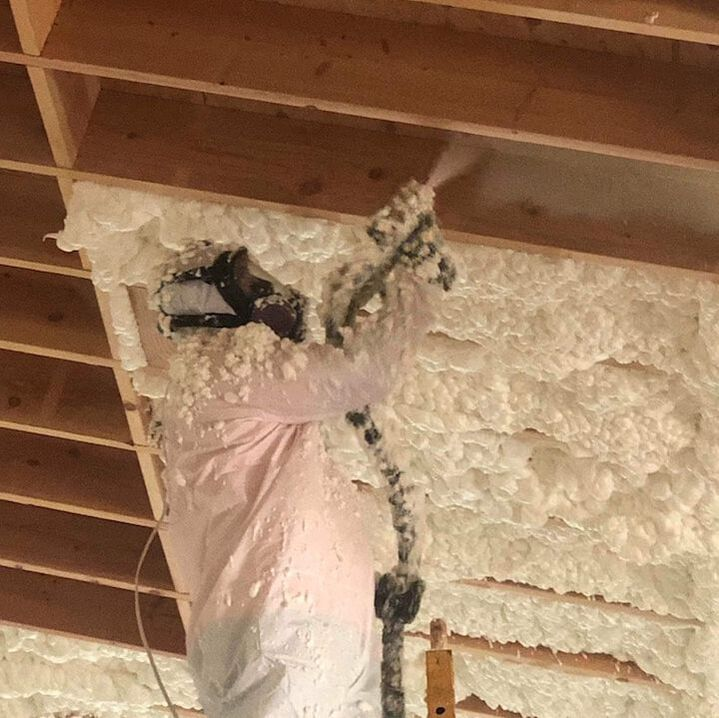 Installing Open-cell Spray Foam Insulation Austin County, TX