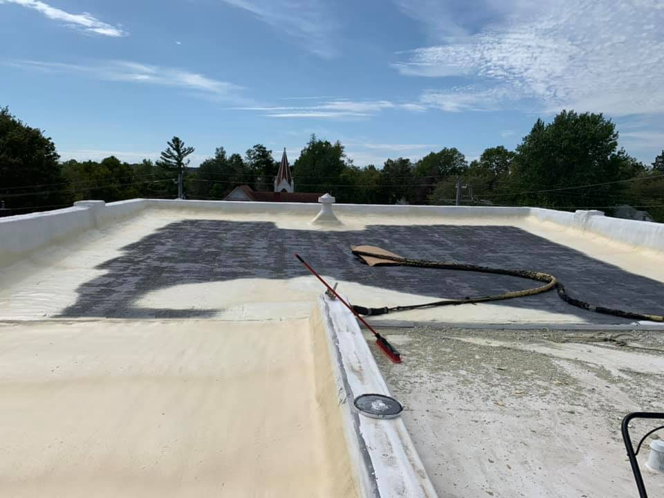 Residential Seamless Foam Roofing East Texas