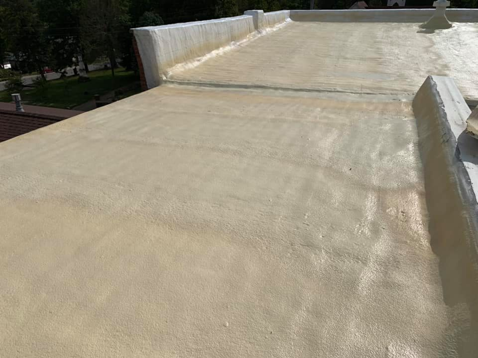 Seamless Foam Roofing East Texas